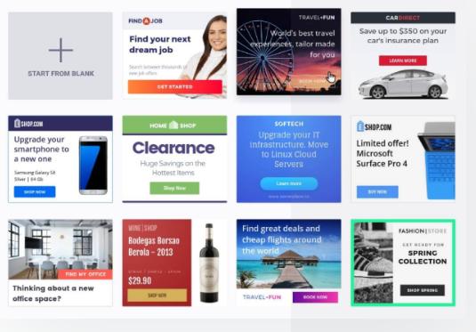 Примери за Дисплей банер реклама в Google портньорската мрежата